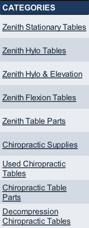 Cool Zenith Chiropractic Tables Interior Design Ideas Jittwwsoteloinfo